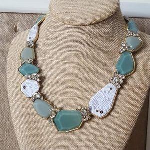 Zen garden statement necklace